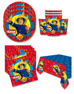 Fireman Sam Birthday Decorations for 16 People