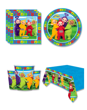 Teletubbies Birthday Decorations for 16 People