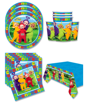 Teletubbies Birthday Decorations for 8 People