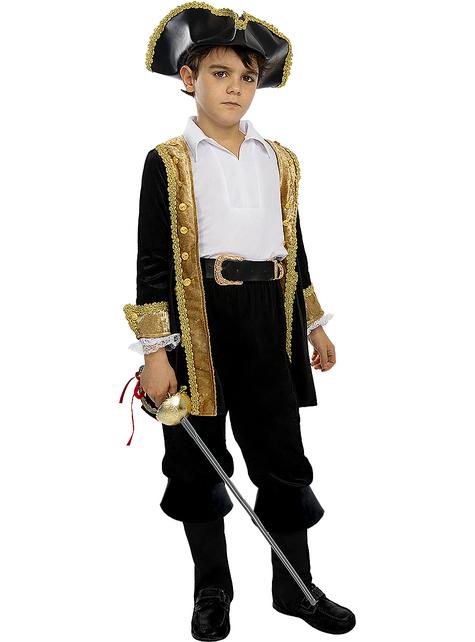 Déguisement pirate deluxe garçon - Collection colonial