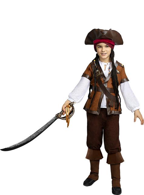 Déguisement pirate garçon - Collection Caraïbe