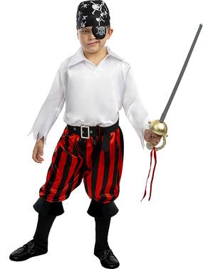 Fato de pirata para menino - Coleção bucaneiro