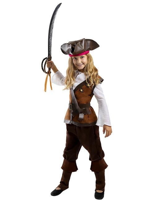 Disfraz de pirata para niña - Colección Caribe