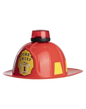 Capacete de bombeiro para adulto
