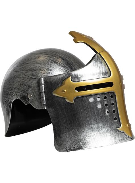 Casco medieval para niños