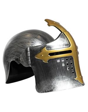 Capacete medieval para meninos