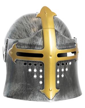 Middeleeuwse helm voor jongens
