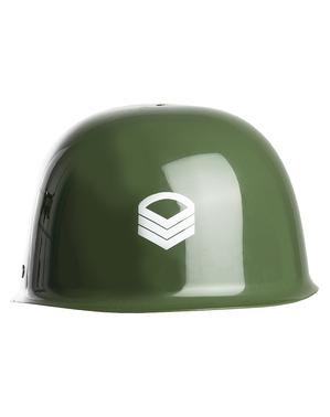 Casco de soldado para niños