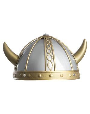 Capacete de viking lutador para meninos