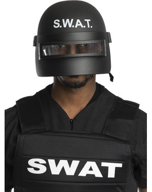 Capacete SWAT anti-motim para adulto