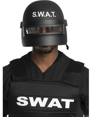 SWAT pořádková helma pro dospělé