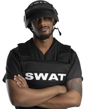 Casco SWAT antidisturbios para adulto