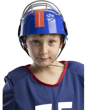 Casco de fútbol americano para niños