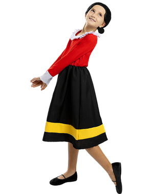 Olivia Kostüm für Mädchen - Popeye