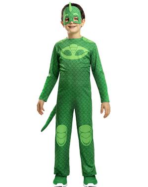 Pysj-heltene Gekko kostyme til gutter