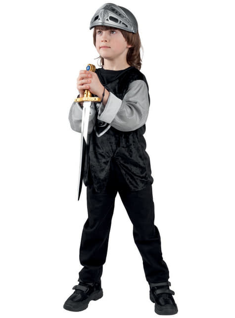 Casco de guerrero medieval para niño - para tu disfraz