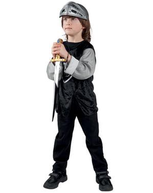 Capacete de guerreiro medieval para menino