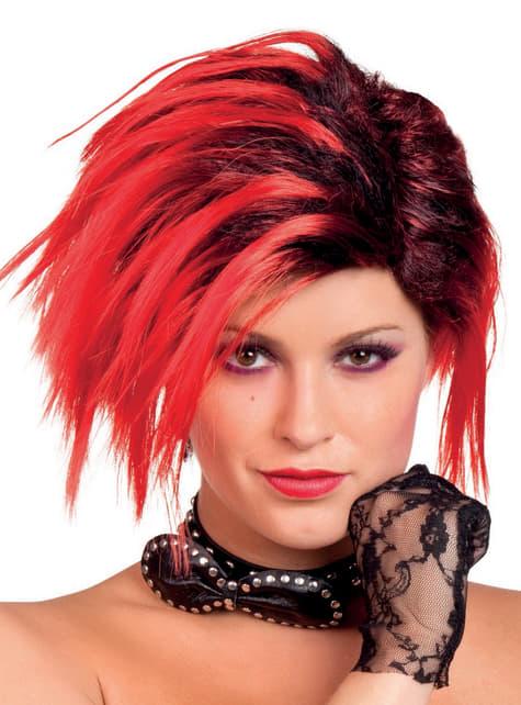 Riđokos punk vlasulja za žene