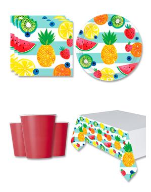 Frukt Festdekorasjoner for 8 Personer