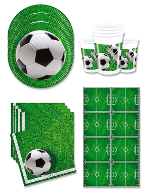 Football Party Decorations for 16 People