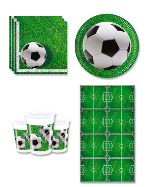 Football Party Decorations for 8 People