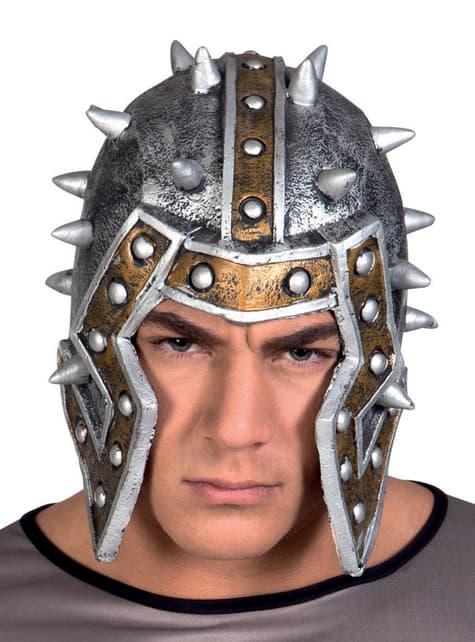 Casco de gladiador romano para adulto