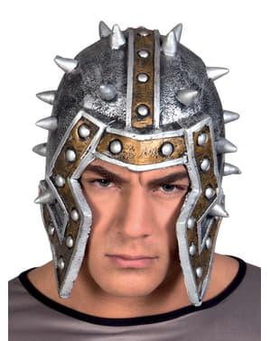 Casco da gladiatore romano per adulto