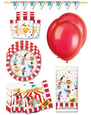 Decoração festa premium Circo 16 pessoas