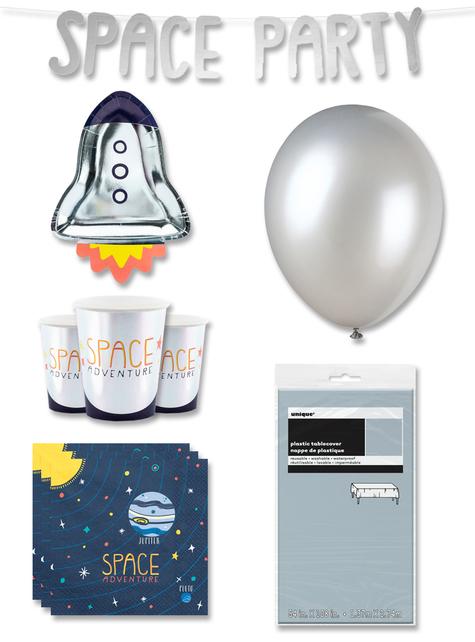 Decoración fiesta premium Espacio 6 personas