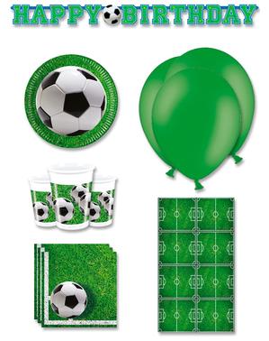 Premium jalkapallojuhlakoristeet 8 hengelle