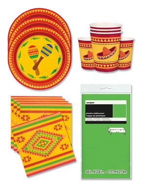 Meksičke ukrasi za zabavu za 12 osoba