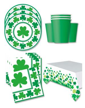 St. Patrick's Day Feestdecoraties voor 16 personen