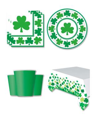 Decorațiune de petrecere Saint Patrick 8 persoane