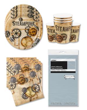 Party dekorace Steampunk pro 12 lidí