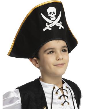 Chapéu de capitão para menino