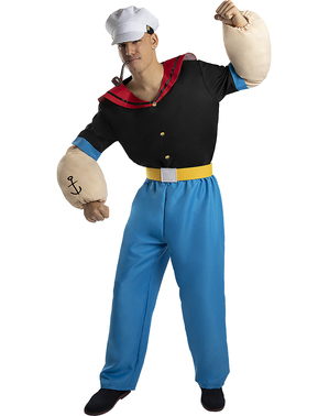 Popeye Costume for Adults - Plus Size