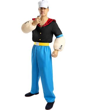 Costume Popeye adulto - Taglia grande