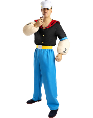 Déguisement Popeye adulte - Grande taille