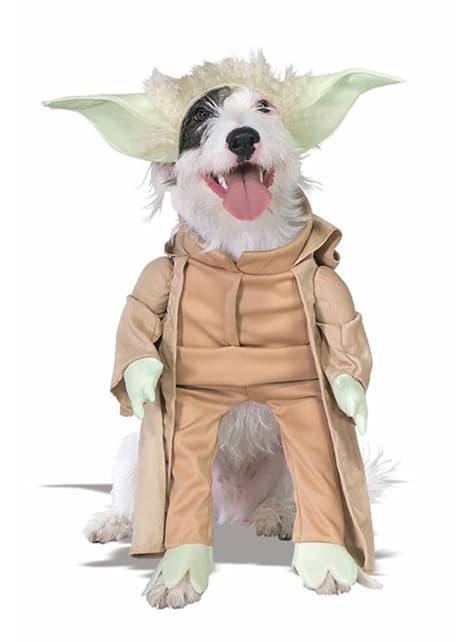 Костюм за кучета Йода