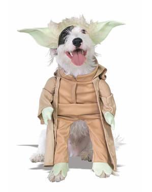 Yoda kostuum voor honden