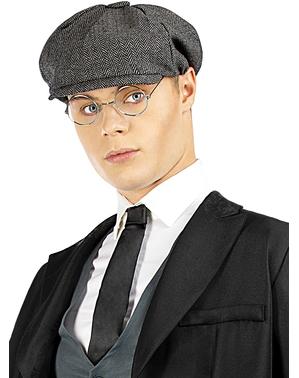 Tommy Shelby Set med mössa och glasögon - Peaky Blinders
