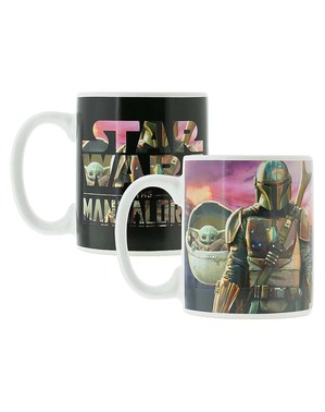 Caneca The Mandalorian muda cor - Star Wars