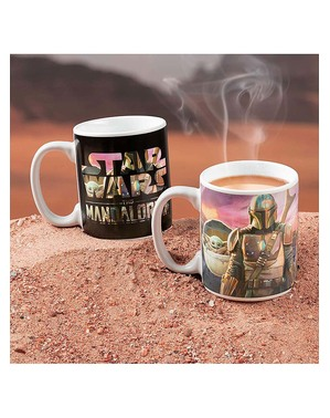 Taza The Mandalorian cambia color - Star Wars