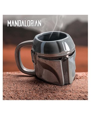 Caneca 3D The Mandalorian - Star Wars