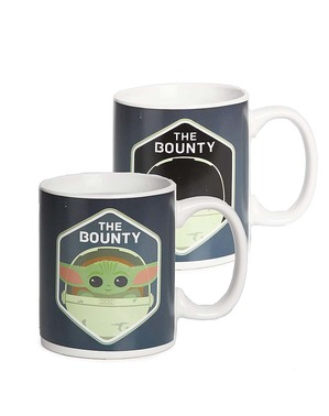 Mug Baby Yoda The Mandalorian change de couleur - Star Wars