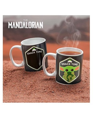 Taza Baby Yoda The Mandalorian cambia color - Star Wars