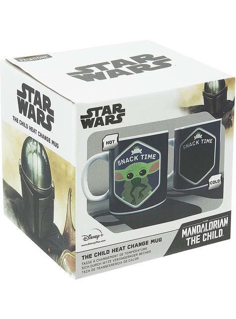 Taza Baby Yoda The Mandalorian cambia color - Star Wars
