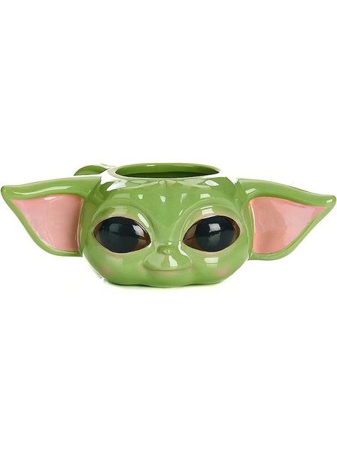 Taza 3D Baby Yoda The Mandalorian - Star Wars