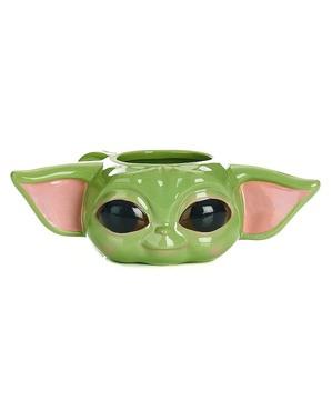 Cană 3D de copii Yoda The Mandalorian - Star Wars