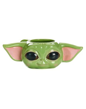 Caneca 3D Baby Yoda The Mandalorian - Star Wars